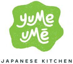 Playful identity for Yume Umē, a new Japanese Kitchen in Florida. Food Logo Design, Badge Design, Logo Food, Branding Design, Corporate Branding, Dessert Logo, Bakery Logo, Bakery Branding, Logo Branding