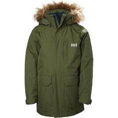 JR FELIX PARKA (235 AUD) ❤ liked on Polyvore featuring outerwear, coats, green parkas, parka coat, green coats and green parka coat