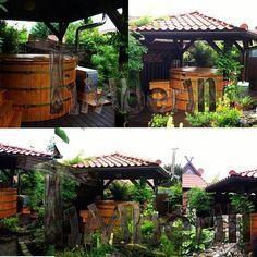 Badetonne mit Kunststoffeinsatz! Vielen dank, Udo!   #badezuber #nederland #nederlands #netherlands #switzerland #schweiz #vildmarksbad #udeliv #livskvalitet #danmark #spa #france #bainnordique #garten #jardin #garden #woodfiredhottub #badestampen #badestamp #norge #norway #badtunna #timberin    #Regram via @timberin.mb