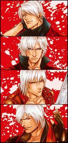 Imagem de Dante, devil may cry