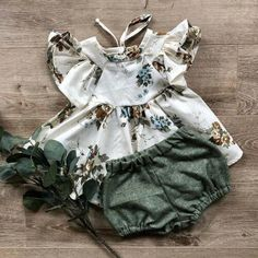 Get her ready for any gatherings or family reunions. This toddler outfit features a design that is perfect for getting your little girl all dressed up for special occasions. Sizes: Newborn, 12 up to Short Outfits, Spring Outfits, Girl Outfits, Newborn Outfits, Toddler Outfits, Girl Sleeves, Baby Girl Newborn, Baby Girls, Color Shorts