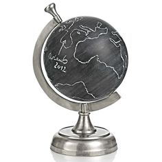 black board globe Map Globe, Present Gift, Home Interior Design, Home And Living, Inspiration, Creative, Gifts, Maps, Presents
