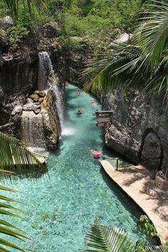 XCaret underground river, Mexico