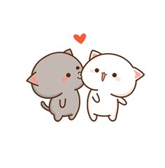 Ala,mn aklm katy xoy aha dasaka😂😂 Kawaii Cat, Kawaii Chibi, Cute Chibi, Cute Animal Drawings, Cute Drawings, Chibi Cat, Kawaii Wallpaper, Cute Comics, Cute Gif
