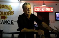 Travel Advice : There's nothing Anthony Bourdain won't eat, but there's one place you won't see him eating.