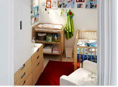small room arrangement for a nursery - from Ikea.com's inspiration gallery