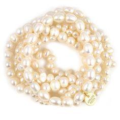 Classic pearl bracelet au naturel