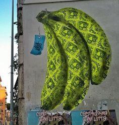 """Uno - Italian Street Artist - """"La dose equivalente"""" - Roma (IT) - 11/2014 -  */  #uno #streetart"""