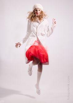 Michaela Mazalanova white collection by Jozo Palenik Fashion Art, Hair Makeup, Ballet Skirt, Skirts, How To Make, Collection, Hairdos, Party Hairstyle, Skirt
