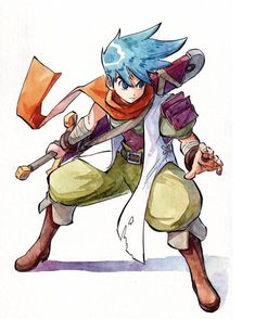 Character Modeling, Character Art, Character Ideas, Game Design, Design Art, Breath Of Fire, Manga Poses, Action Poses, Character Design Inspiration