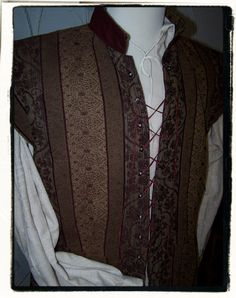 Burgundy Vineyard Tudor Renaissance Mens Lords by RecycledRockstah, $90.00