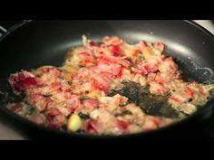 Doradca Smaku II, odc. 27: Spaghetti carbonara - DoradcaSmaku.pl Potato Salad, Spaghetti, Potatoes, Meat, Chicken, Cooking, Ethnic Recipes, Food, Kitchen
