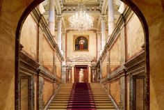 The Hotel Imperial's Royal Staircase