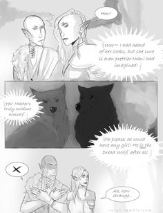 Can this please be a new romance scene for Solavellan? Pleeeeeease
