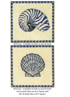 Kelly Clarkneedlepoint shells