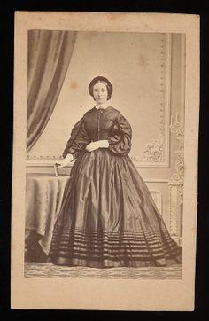 C.E. Schlunck CDV - Frau von Eckartsberg - Königsberg 1860er
