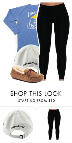 """Out to brunch."" by vindra-rampersad ❤ liked on Polyvore featuring Vineyard Vines and UGG Australia"