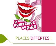 Nos clients gagnent à être fidèles !  Nous offrons 2 places pour Le Printemps du Rire (le 28/03 au Zénith de #Toulouse) à un couple ayant réservé en direct !