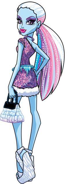 Monster High Artworks/PNG: Abbey Bominable