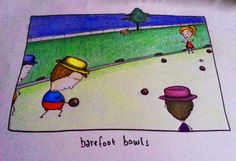 Lawn bowls. What sorcery is this?
