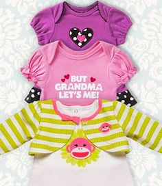 On Trend: Chic Styles for Baby Girls. Very appropriate with my mum and my niece!!!