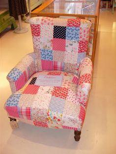 patchwork of Cath Kidston fabrics