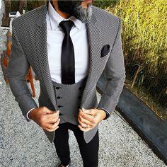 Men Wedding Suits Elegant 3 Pieces Wedding Dress Wool Dark Green Smoking Tuxedo Jacket Terno Slim Groom Suits For Men Wedding Dress Men, Wedding Suits, Mens Fashion Suits, Mens Suits, Suit For Men, Mens 3 Piece Suits, Stylish Men, Men Casual, Terno Slim