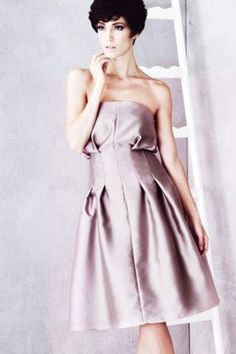 Vania Romoff AW 2012 Style 3 - Wedding Dresses Bridal Gowns,Prom Dresses On Sale 2016 Wedding Dresses, Prom Dresses For Sale, Bridesmaid Dresses, Vania Romoff Bridal, Dress Collection, Bridal Gowns, Strapless Dress, Style, Fashion