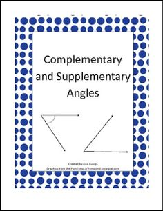 FREE MATH LESSON - \u201cComplementary and Supplementary Angles Practice\u201d - Go to The Best