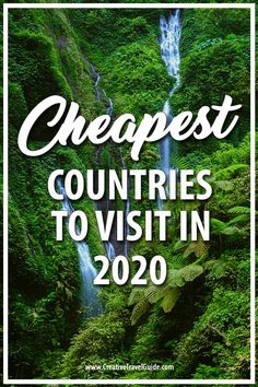 We always love finding the cheapest best value destinations to visit and want to share that with you! So here are the cheapest countries to visit in Travel Vacation List Holiday Tour Trip Destinations Bucket List Destinations, Honeymoon Destinations, Family Destinations, Countries To Visit, Places To Visit, Travel Guides, Travel Tips, Budget Travel, Travel Goals