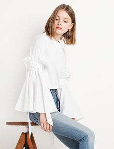 Bella Tie Bell Sleeve Top