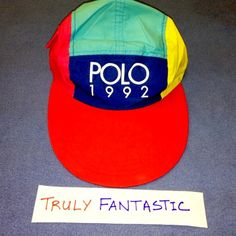1f71f86c864 1992 Long Bill Hat By Ralph Lauren Polo Sold for  5