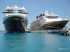 What to pack in your day bag for port days. Aboard the Disney Dream: wanderingoff.com