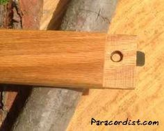 Paracordist's Packable Wooden Bushcrafting Bucksaw - Paracordist Creations LLC