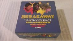 Breakaway The Anti Violence Anti Aggression Anti Anger Anti Abuse Board Game | Can't Resist Vintage