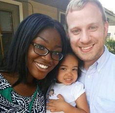 Swirl interracial bwwm wmbw parents @aniebanderson on IG
