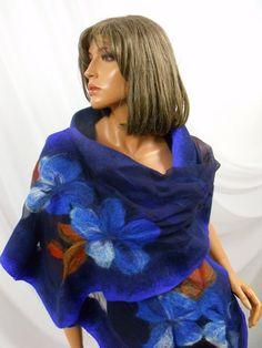 Large Shawl Big shawl. Bolero Cape Wrap. Nuno от MerinoSilk