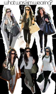 Kardashian style.