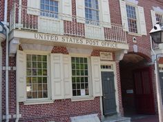Ben Franklin's Post Office, Philadelphia, PA. 2005
