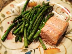 Salmon And Asparagus: 1/31/14