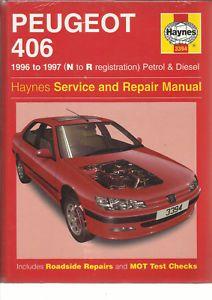 Haynes New Sealed Mint Peugeot 406 Saloon Estate Petrol Turbo Diesel Srm N To R Ebay Peugeot Petrol Saloon