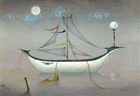 Bílá loď by Ludmila Jirincova-Novakova