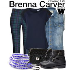 Inspired by Haley Ramm as Brenna Carver on Chasing Life.