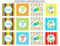 DIY  Deluxe CANDY SHOPPE  Boy Birthday Party  by CupcakeExpress, $35.00