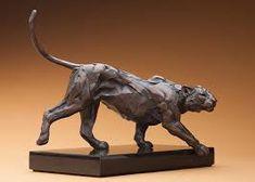 Rembrandt Bugatti. Big Cats Art, Cat Art, Jane Goodall, Rembrandt, Animal Sculptures, Sculpture Art, Der Panther, Bronze, Oeuvre D'art