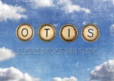 Geboortekaartje vintage typmachine letters | Otis