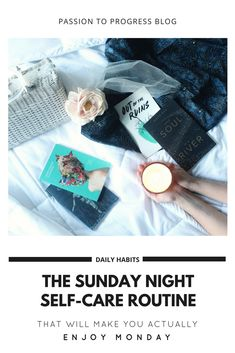 Getting yourself ready for Monday starts on Sunday night. Adopt these 13 practices into your Sunday night routine to relax your body and refresh your mind. Come Monday morning, you will be more than ready to take on the day. Sunday Routine, Night Routine, Sunday Night, Monday Morning, Self Care Routine, Wordpress, Daily Routines, Make It Yourself, How To Make