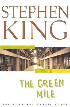 The Green Mile by Stephen King. It's also one of the first 2 Stephen King books I ever read Stephen King It, Steven King, King Tom, I Love Books, Great Books, Books To Read, My Books, Amazing Books, Milla Verde