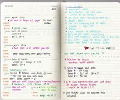 this is what my planner looks like weekly. moleskines ftw!! ;)