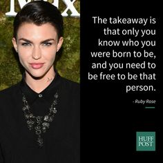 Ruby Rose Breaks Down What It Means To Be Gender Fluid